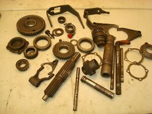 1952 Ford 8n Tractor Misc 4 Speed Transmission Gears Forks Shafts Parts