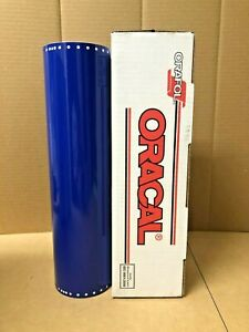 Oracal 651 1 Roll 15 X 10yd 30ft King Blue 049 Gloss Sign Vinyl