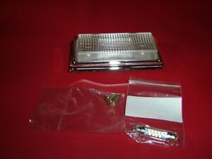 1984 1987 Chevy Gmc Truck C10 Custom Led Clear Dome Light Assembly 84 87