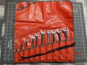 Snap On Tools 10pc Sae Flare Nut Line Wrench Set 1 4 1 1 8 Rxfs2836b Pouch