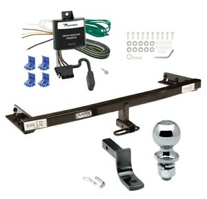 Trailer Hitch For 05 06 X trail Canada Only Complete Package W Wiring 2 Ball
