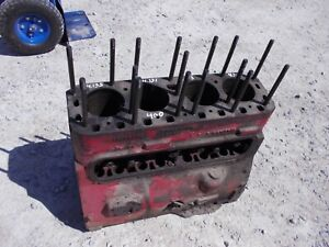 Farmall 400 450 Super M Sm Smta Mta Tractor Original Ih C264 Engine Motor Block