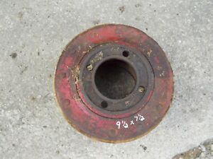 Farmall H Super H M Tractor Ih Flat Belt Pulley