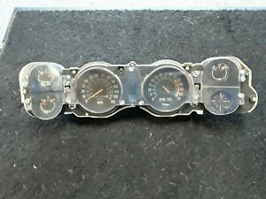 Chevy Camaro Z28 Instrument Cluster Gauges Guages Spedomoter 1978