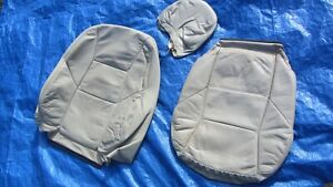 05 09 Volvo S60 V70 T 5 2 5t Oem Lite Beige Driver Left Side Leather Seat Covers