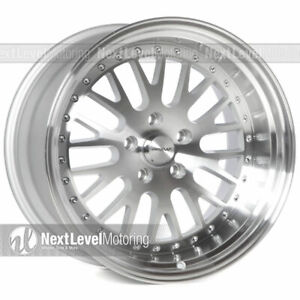 Circuit Performance Cp21 18x9 5 18x11 5 114 3 20 Machined Wheels Staggered