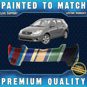 New Painted To Match Front Bumper Cover For 2005 2008 Toyota Matrix Base Xr Xrs