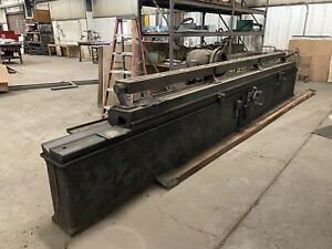 S C Rogers 184nt 15 Foot Shear Blade Knife Edge Surface Grinder