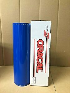 Oracal 651 1 Roll 15 X 10yd 30ft Traffic Blue 057 Gloss Sign Vinyl