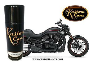 Harley Davidson Black Denim 12oz Aerosol Can Motorcycle Hotrod Hok Paint