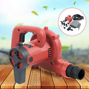 110v Heavy Duty 1200w Corded Electric Leaf Sweeper Vacuum Blower Vortex Impeller