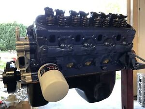 302 306 Ford Long Block engine Cradle with Oil Pan Tc Ford Gt 40 P Heads