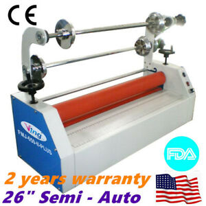 Ving 26 In Semi Auto Small Home Cold Laminator For Business Card Laminating
