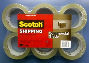 3m Packaging Tape 3750 Heavy Duty Clear 1 88 X 54 6 Yd Qty 1 6 Pk 6 Rolls