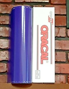 Oracal 651 1 Roll 15 X 10yd 30ft Purple 404 Gloss Sign Vinyl