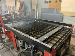 Wright Cnc Plasma Table 4x8 1 2 Capacity 2017 Hypertherm 45 Included Cut R