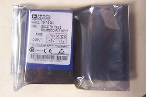 New Analog Devices Model 7b47 s 09 1 Isolated Type S Thermocouple Input 7b47