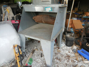 Updraft Paint Spray Booth 20 By 36 Opening 240 208 460 Three Phase Exhaust Motor