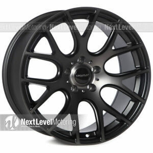 Circuit Cp31 189 1810 5 114 3 Tinted Black Wheels Staggered Fits Mustang Sn95