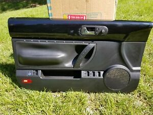 2003 2010 Convertible Only Vw Beetle Driver Left Door Panel Black