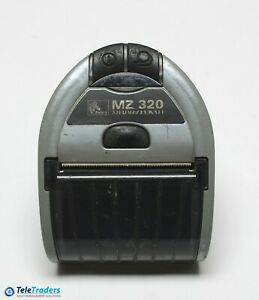 Used Zebra Mz320 Mz 320 Bluetooth Mobile Thermal Receipt Printer No Charger