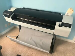Hp Designjet T1300 Postscript Digital Color 44 Ps Plotter Printer Cr652a