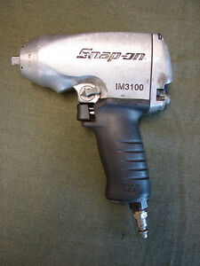 Snap on Im3100 3 8 Variable Impact Air Wrench