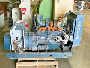 Kohler Electric Plant 55 Kw Generator 60r071 80204a42