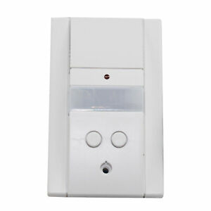 Hubbell Unenco Som 10 2 Motion Sensor Pir Wall Switch 120 277v White