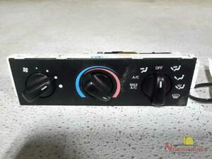 2000 Ford Ranger Front Temperature Controls