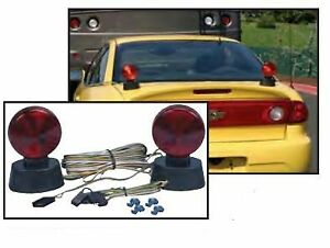 Husky Towing Towed Vehicle Light Towed Vehicle Lights Magnet Base 20 Wir