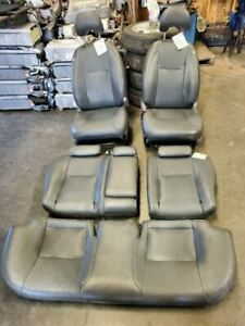 06 09 Prius Driver Front Seat Bucket With Air Bag Leather Manual 7969