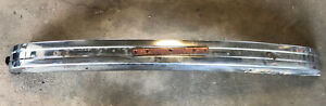 Vintage Volkswagen Bug Beetle Chrome Bumper Oem Part Has Rust Inside