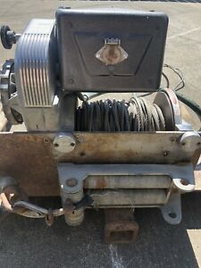 Jeep Special Equipment Warn Winch M8274
