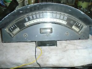 1957 Ford Fairlane Dash Guages