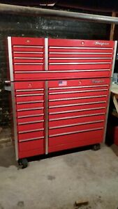Snap on Tool Boxes Kr 660 A Roll Cab Kr 670 Top Box New Lower Price