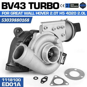 Bv43 53039880168 1118100 Ed01a Turbo For Great Wall Hover 2 0t H5 4d20 2 0l