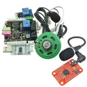 Sp Voice Recognition V3 Module Board Diy Kit Microcontroller Ttl232 For Arduino