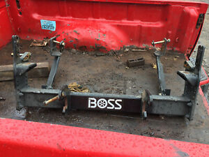 Boss Plow Mount And Harness Complete Plug And Play 13 Pin No Controller