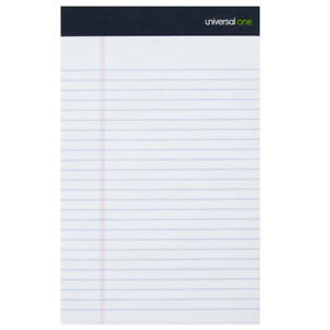 Universal 5 X 8 Lined Notepad Narrow Ruled