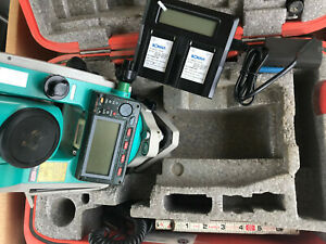 Sokkia Set530r3 Reflectorless Total Station Red tech Ii Case Charger Batteries