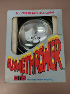 Vintage Aris Flamethrower Off Road 6 Chrome Spotlight 51c New Open Box