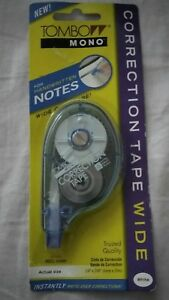 Brand New Tombow Mono White Correction Tape For Handwritten Notes 2 Available
