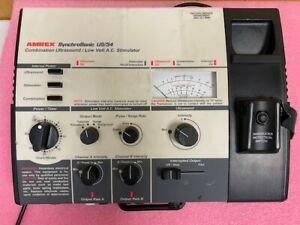 Amrex Synchrosonic Us 54 Combination Ultrasound Stimulator Used