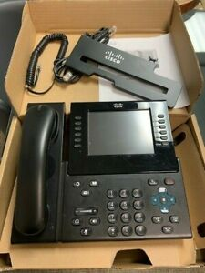 Cisco Cp 9971 c k9 Ip Phone W handset And Stand Color charcoal