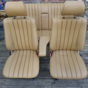 Mercedes Benz 190e Full Set Of Brown Seats Front Rear Driver Passenger W201 190d