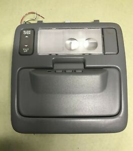 2000 2001 2002 Toyota Solara Overhead Console W Home Link Switches Gray Oem