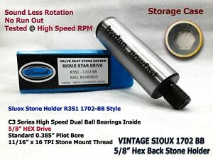 Customized Valve Seat Grinder Stone Holder Sioux 1702bb 385 Bore 5 8 Hex Drive