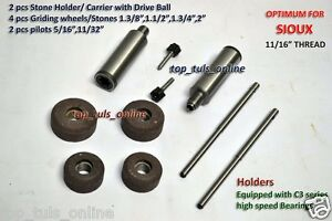 Sioux 1702 Bb Style Valve Seat Grinding Kit