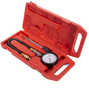 13 Flex Hose Compression Tester Pressure Gauge Cone Adapter 14mm 18mm W Case